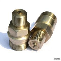銅材加工してクロムメッキ製品