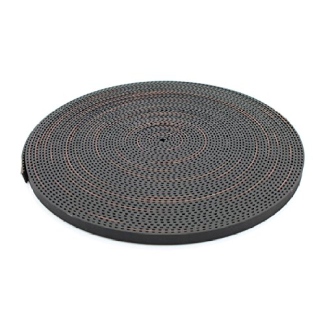 10 Meters GT2-6 Open Timing Belt 2mm Pitch 6mm Width Rubber Fiberglass for 3D Printer by LINGLONG