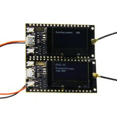 2pcs/sets LORA SX1278 ESP32 0.96 OLED 16 Mt Bytes (128 Mt bit) 433Mhz for Arduino
