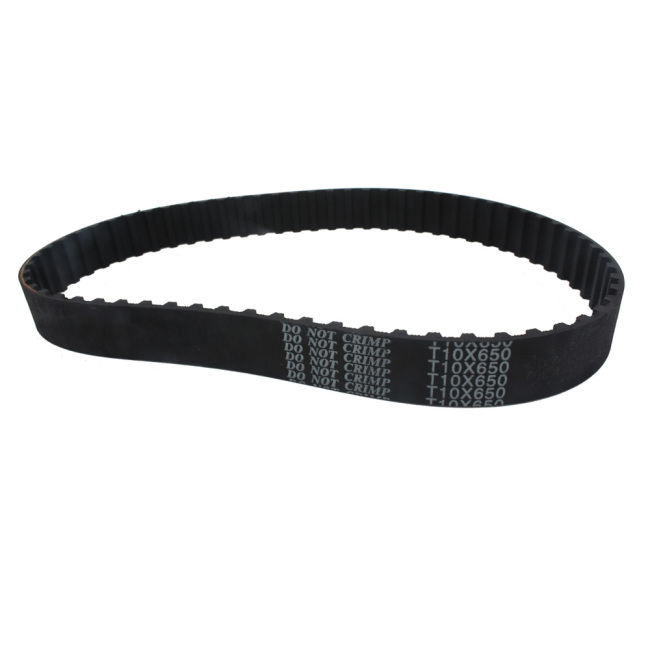 T10×650 Closed Rubber Timing Belt 22mm Width