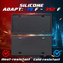 Silicone License Plate