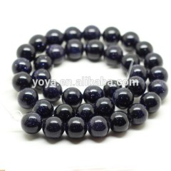 GS4003 Blue Sandstone Beads,Blue goldstone beads