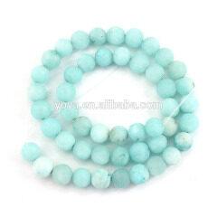 MJ3184 Newest Matte Malaysian Jade Stone Beads,Frosted Jade Gemstone Beads In Bulk