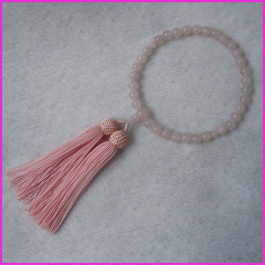 PBB006 powder crystal japanese prayer beads