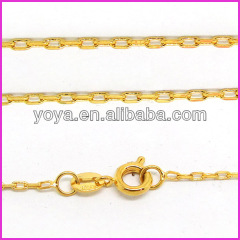 BC0301 Fashion tiny gold necklace chain