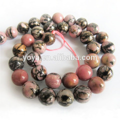 SB6214 Natural Black Veined Rhodonite beads,unique stone beads