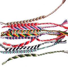 FL0887 Cheap Cotton Friendship Bracelet,Woven Cotton Friendship Bracelet