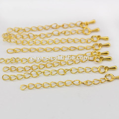 BC1152 Fashion gold extension chains,tail extender,extended jewelry chains