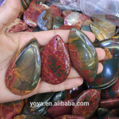 JF2248 Fashion Picasso Jasper Trillion Trapezoid Teardrop Square Pendants