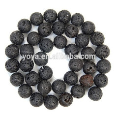 LB1014 Black Lava rock Beads,Natual lava stone beads for jewellery making