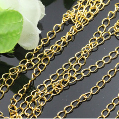 BC1101 Gold plated Extension Chains,Tail Extender Chains