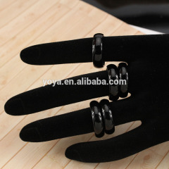 RG1007 Black Onyx Band Rings