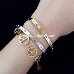 BS2001 Gold silver cubic zirconia chain bracelet,diamond pave bracelet jewelry for girls
