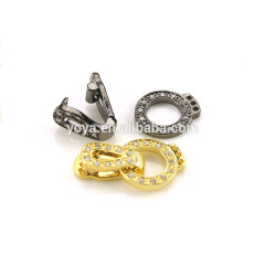 CZ6625 Best price cz micro pave clasps , Cubic zirconia diamond clasp.