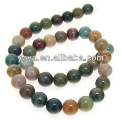 AB0036 Wholesale Indian agate stone beads,loose gemstone beads for bracelet making