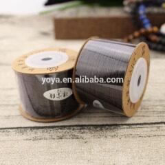 ST1037 0.8mm Dark Brown Nylon Braided Macrame Cords String Thread
