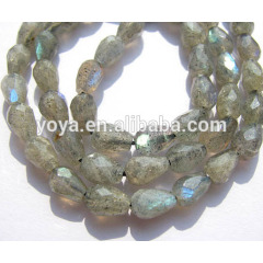 LA5010 Faceted Labradorite Teardrop Beads