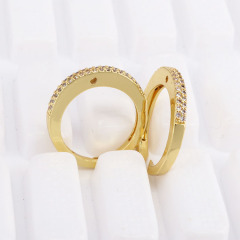 RM1099 Delicate CZ Ring, Ladies Engagement Ring CZ Wedding Rings for Women Girls
