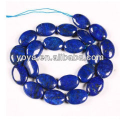 LL1011 Natural Lapis Lazuli oval beads,lazuli oval beads