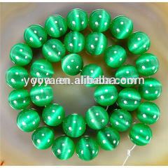 CE1001 Spring color Cat Eye Gems Beads,Cat Eye Stone Bead