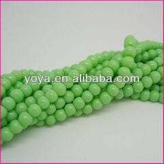 GP0811 Neon Plastic Beads,Plastic Round Beads