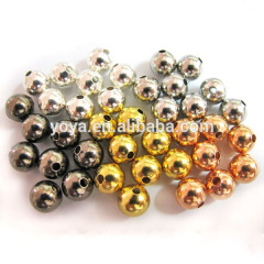 JF2066 Smooth Brass Spacer Beads,Metal Round beads