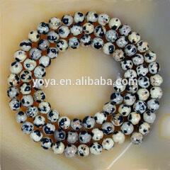 SB6204 Hot Sale Natural Dalmation Spot Jasper Beads,Natural Gemstone Beads