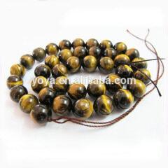 TE3001 in stock natural tigereyes,yellow tiger eye stone beads