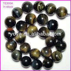 TE3004 in stock tiger eye stone,colorized tiger eye beads