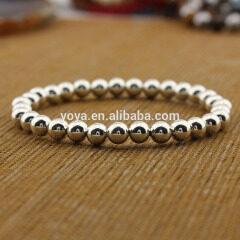 SS1627 Top selling wholesale 925 sterling sliver beads bracelet, sliver color bracelet