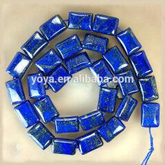 LL1026 Lapis lazuli rectangle beads,lapis lazuli oblong beads
