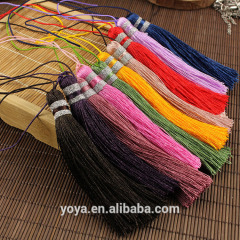 EA3175 Fashion silk tassels for necklace jewelry making