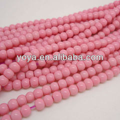 GP0812 Pink acrylic plastic beads