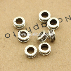 China wholesale flower spots alloy fittings for jewelry ,Ancient silver fittings
