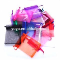 BP1008 Wholesale cheap organza pouch wedding favor gift bag,xmas christmas gift bag jewelry pouch