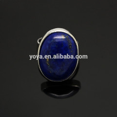 RG1024 Wholesale lapis lazuli oval Ring,Bezel Setting Ring
