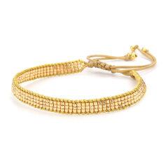 BG1014 Miyuki Seed Beads Boho Handmade Wrap Adjustable Beads Bracelet Bohemian Bangle Dainty Beaded Friendship Couples Bracelet