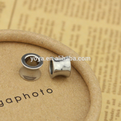 fashion accessories S651 stainless steel jewelry findings stainless steel interval bead for bracelet