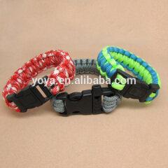 BRF1125 Wholesale Paracord Survival Bracelet,Fashion Paracord Jewelry Survival Bracelet