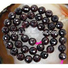 GB5121 Faceted Garnet Beads,Natural Garnet Beads