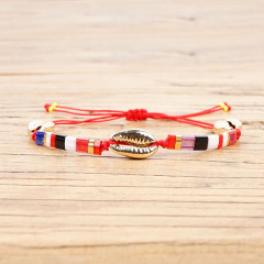 BG1029 Bohemian Summer Beach 2019 New Cowry Shell Jewelry Bracelets Insta Fashion Pulseras Janpan Tila Beads Bracelets