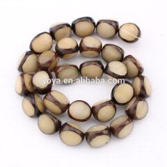 SB0700 Natual Bodhi Seed Tibet Buddhist Prayer 3 Triple Face Beads