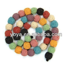 LB1001 Mix Color Lava Beads,Lava Rock Beads,lava loose beads