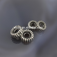 Hight quality 925 sterling sliver motorcycle tires shape findings, sliver color findings