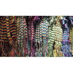 FL0819 Fashion handmade cotton friendship brazilian bracelet, cotton woven friendship bracelet