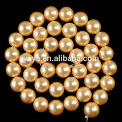 SP4003 Hot sale gold south sea shell pearl beads