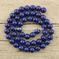MJ1009 Wholesale lapis blue mashan jade beads,dark blue gemstone beads