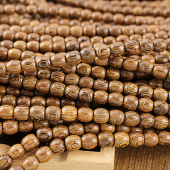 PBB018 Natural Wood Buddhist Prayer Beads Necklace,Meditation 108 Beads