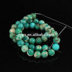 SM3002 Green Sea Sediment Jasper Beads,Green Imperial Jasper beads