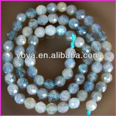 LA5006 Faceted Labradorite Beads